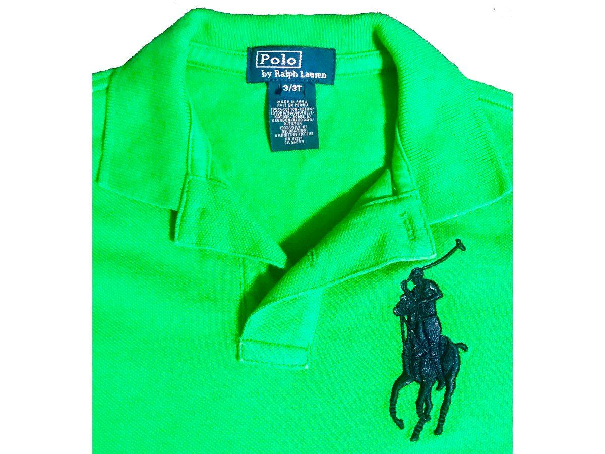 camisa polo ralph lauren infantil tam. 3 super promoção. Carregando zoom. b9f6a5c9d00