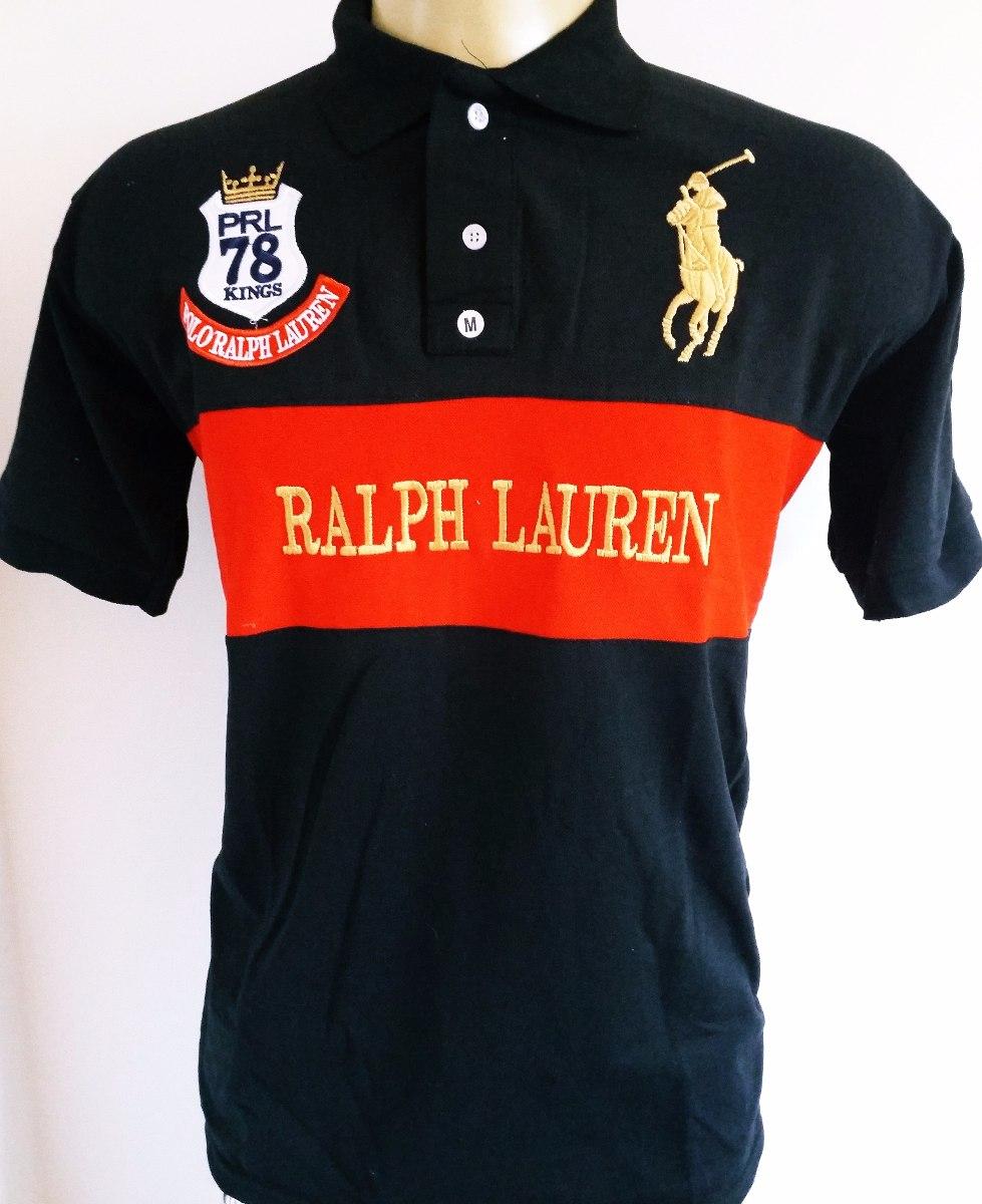b0340b60b95b2 camisa polo ralph lauren kit com 5 gratis um boné. Carregando zoom.