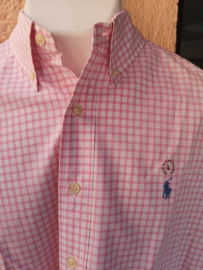 Camisa Polo Ralph Lauren L Rosa (no Brooks a21832befc3