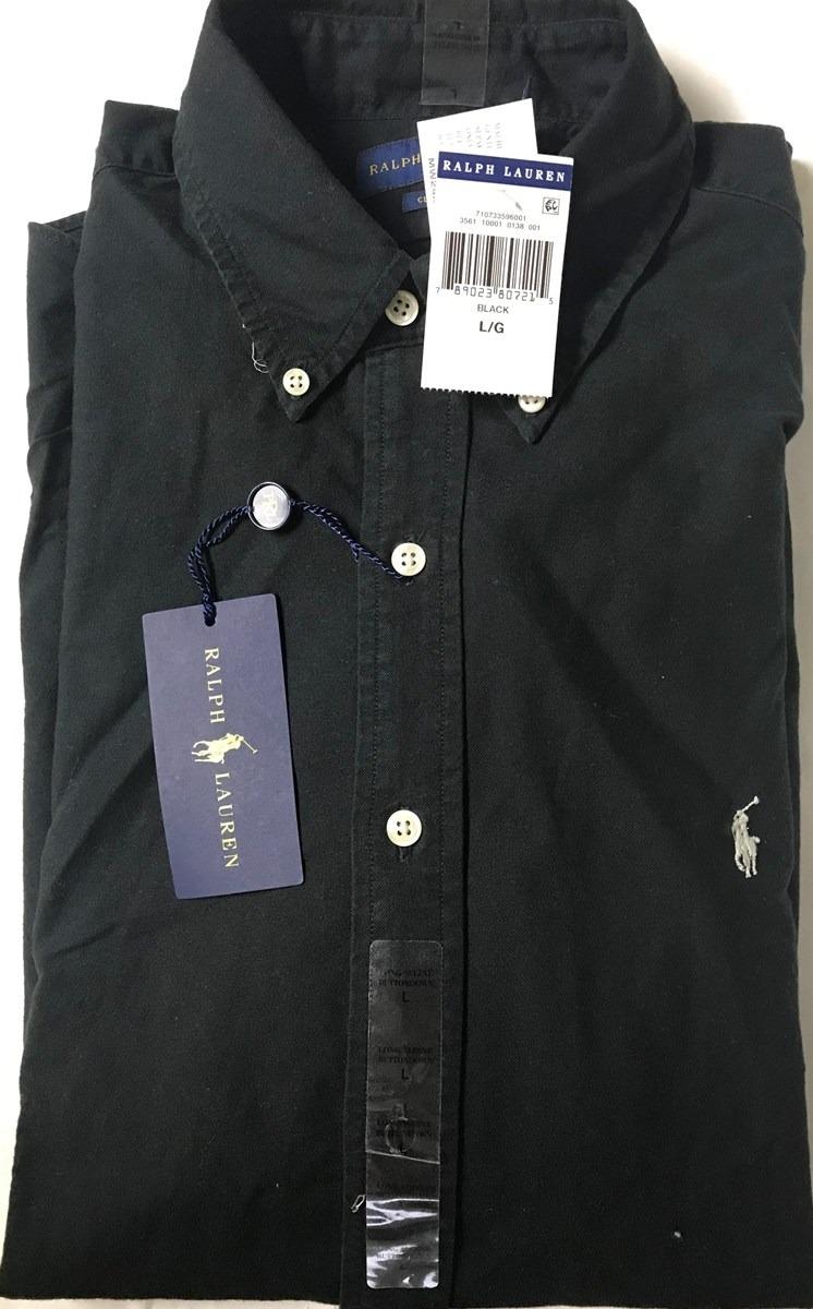 camisa polo ralph lauren manga larga 100% original talla l. Cargando zoom. 7fc820253341a
