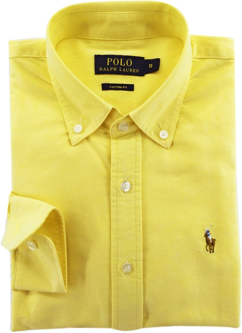 Camisa Polo Ralph Lauren Masculina Amarela Pronta Entrega - R  229 ... 1d1302eb2fab8