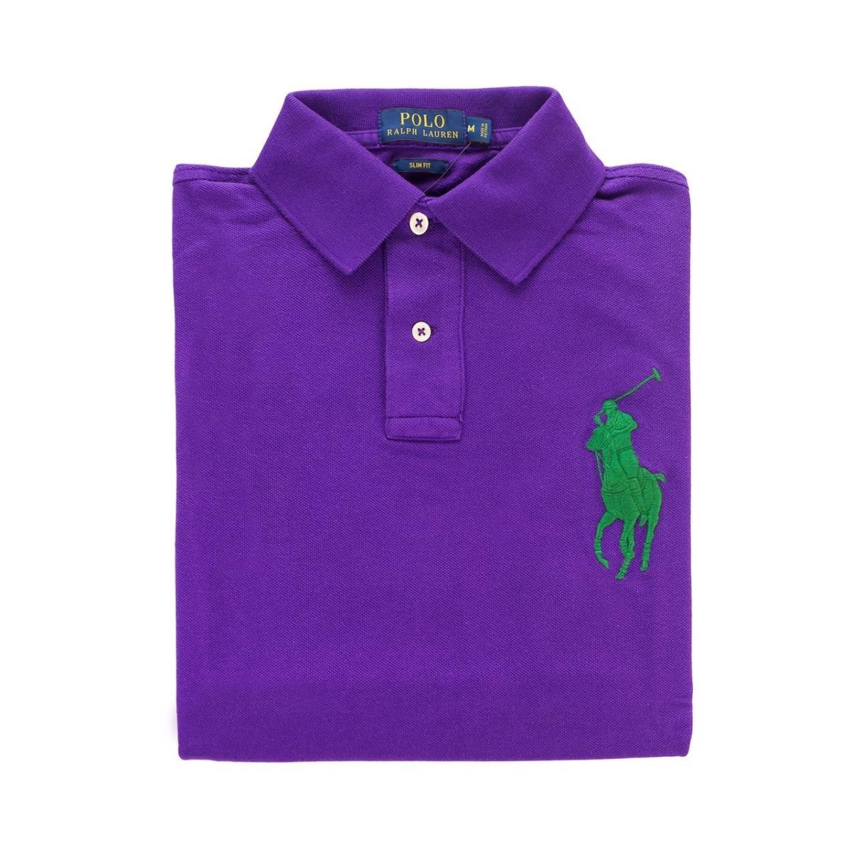 fcf8f246d5f99 Camisa Polo Ralph Lauren Masculina Big Poney Importada Usa - R  279 ...