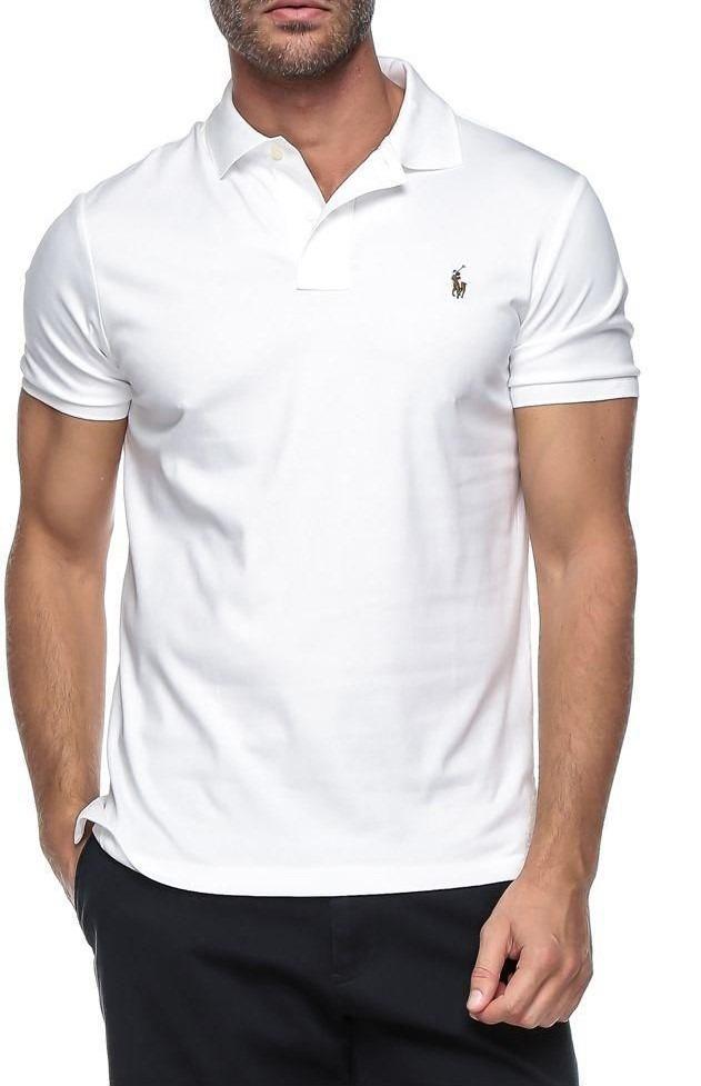 camisa polo ralph lauren masculina cfit branco logo colorido. Carregando  zoom. fa6d888e823ee