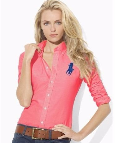 Camisa Polo Ralph Lauren Mujer Importada Elastizada Unica ... 5dc6569f3df6