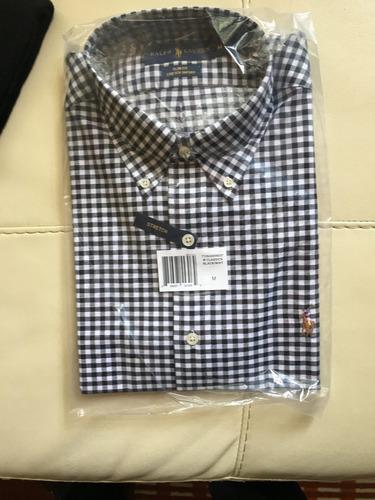 camisa polo ralph lauren, nueva, original, talla m y s