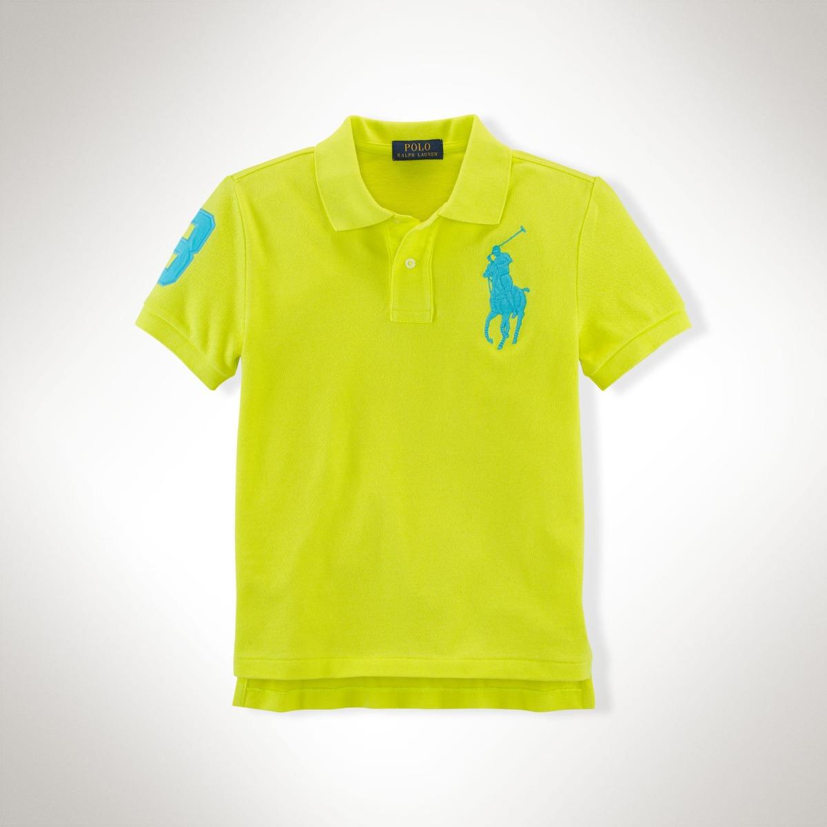 5fdb65f54d Camisa Polo Ralph Lauren Original 14 - 16 Anos Tam. L - R$ 129,99 em ...