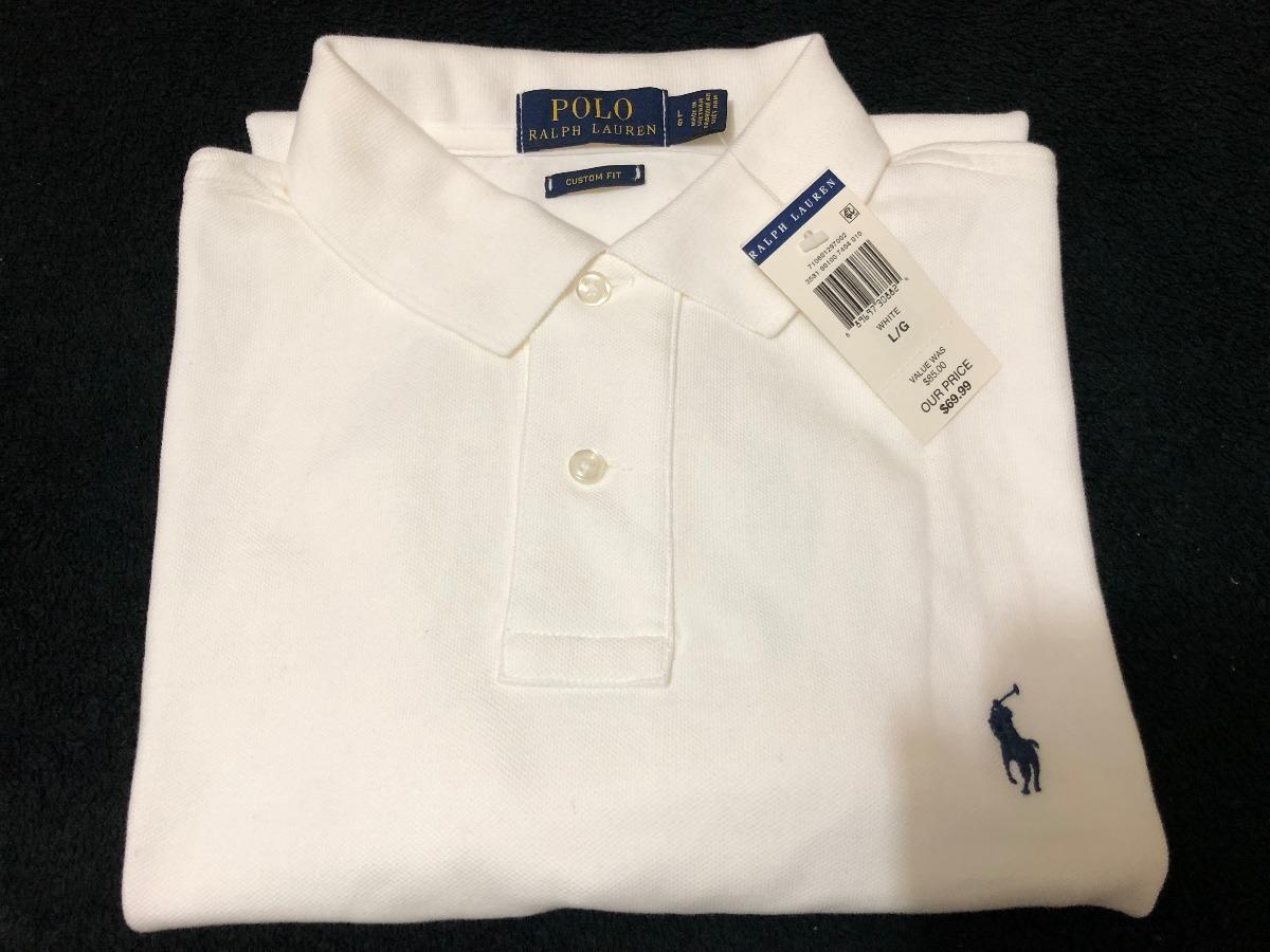 camisa polo ralph lauren - original - tam.  g - branca. Carregando zoom. 57952f5458e