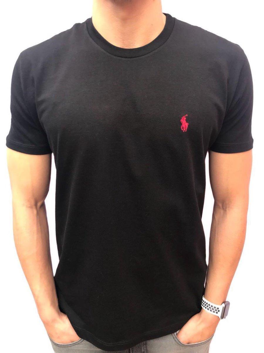 Camisa Polo Ralph Lauren Preta - R  138 aeb61559798