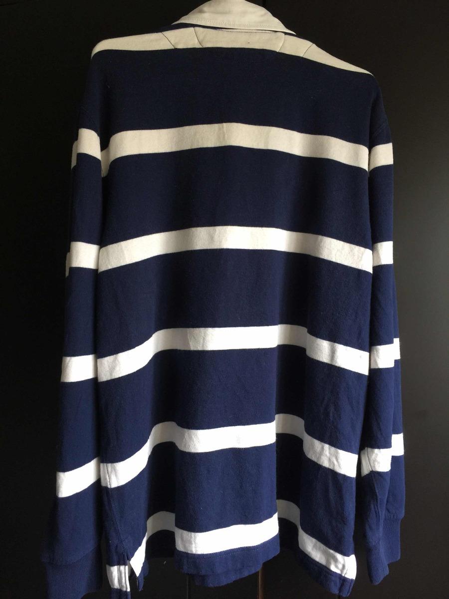 camisa polo ralph lauren rayas azul con blanco original. Cargando zoom. 8dfdfe8aa32