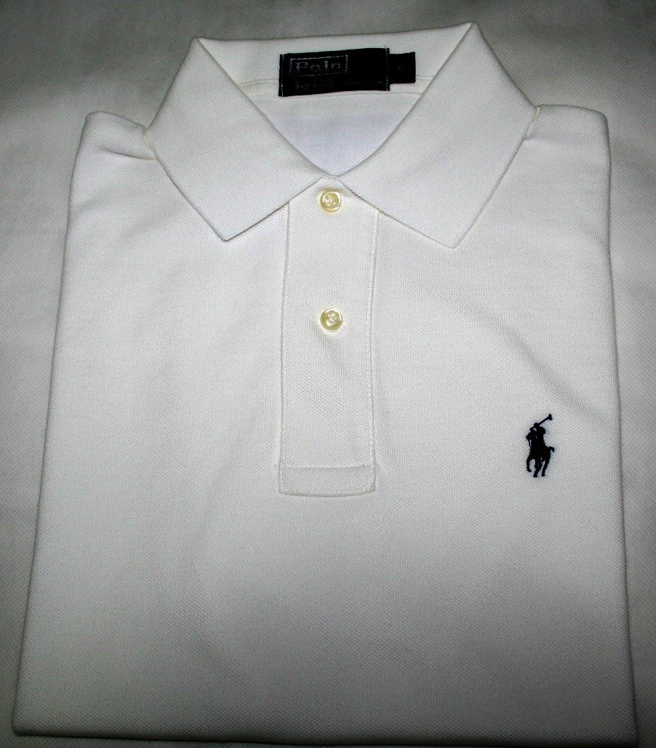 camisa polo ralph lauren regular fit branca tam. p. Carregando zoom. a647fe79f03