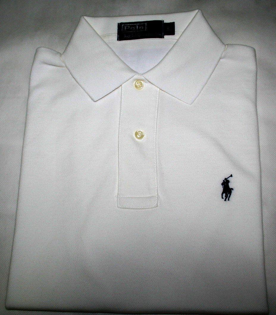 camisa polo ralph lauren regular fit branca tam. p. Carregando zoom. ea294054b73