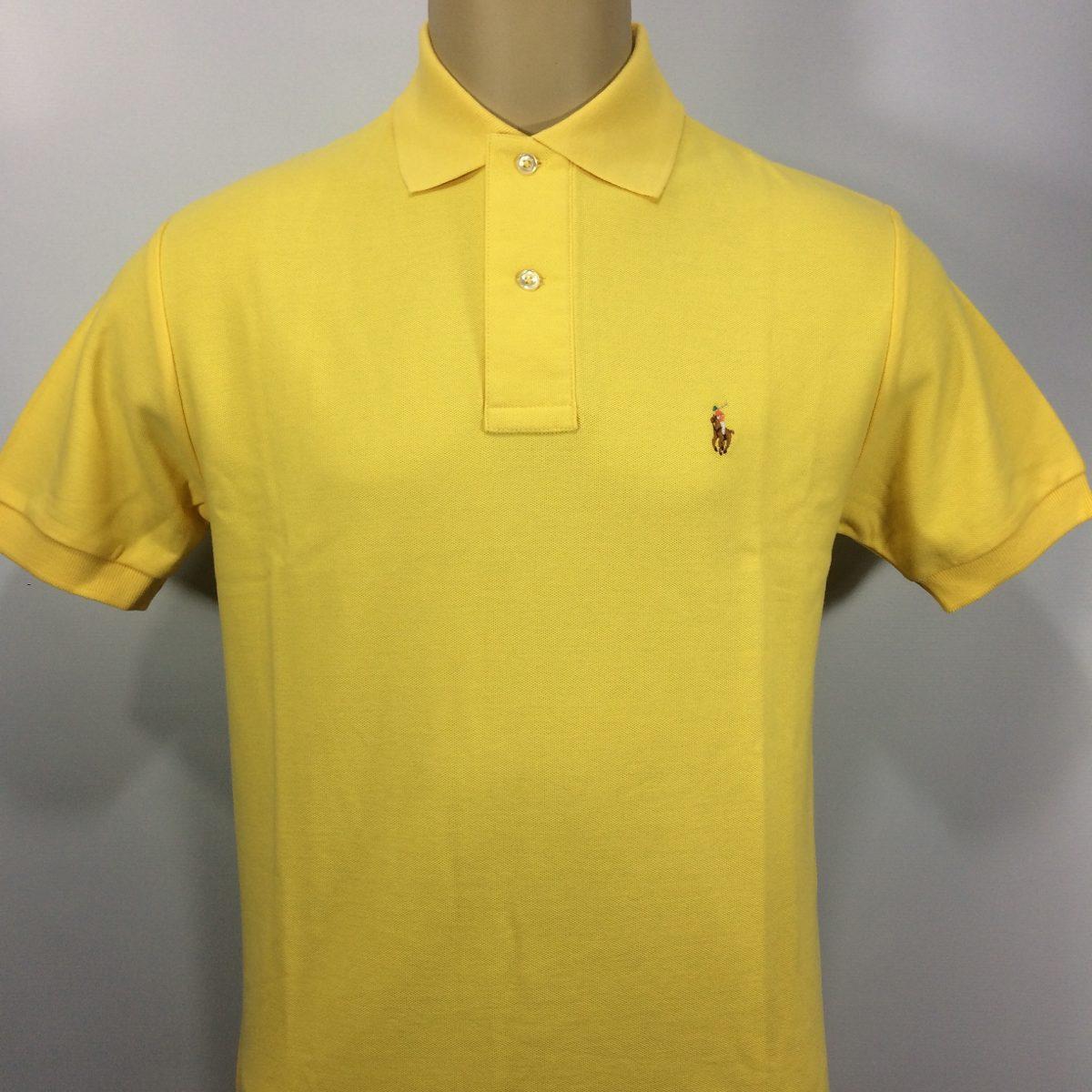camisa polo ralph lauren slim fit cavalo colorido. Carregando zoom. bb5a510a1be