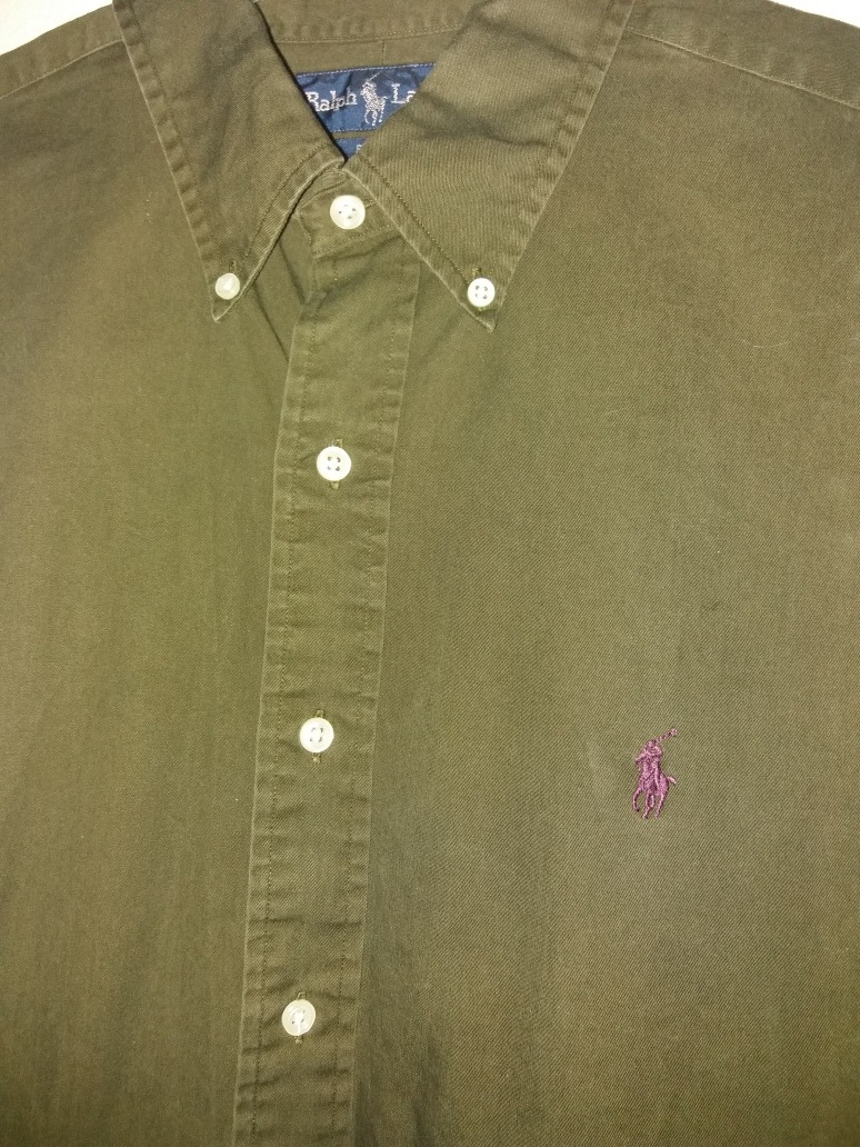 c54a0328f2204 Camisa Polo Ralph Lauren Talla L 100% Algodón -   15.000 en Mercado ...