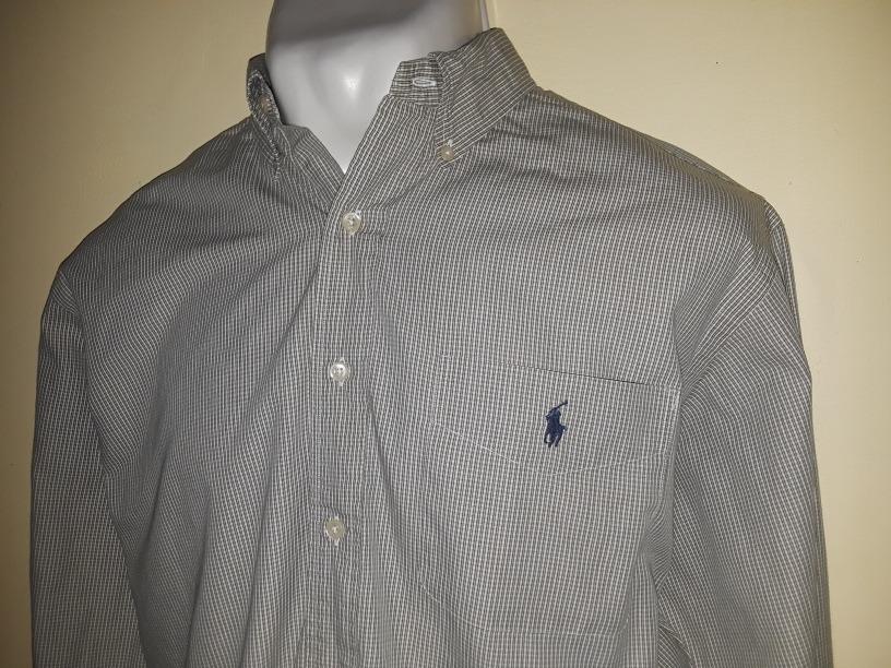 8c77b0570ebf6 Camisa Polo Ralph Lauren Talla L 16 1 2 34  35 -   425.00 en Mercado ...