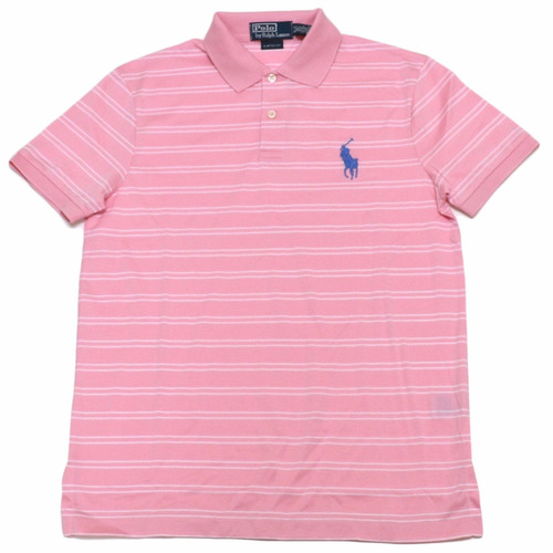camisa polo ralph lauren: tamanho g / l original big pony