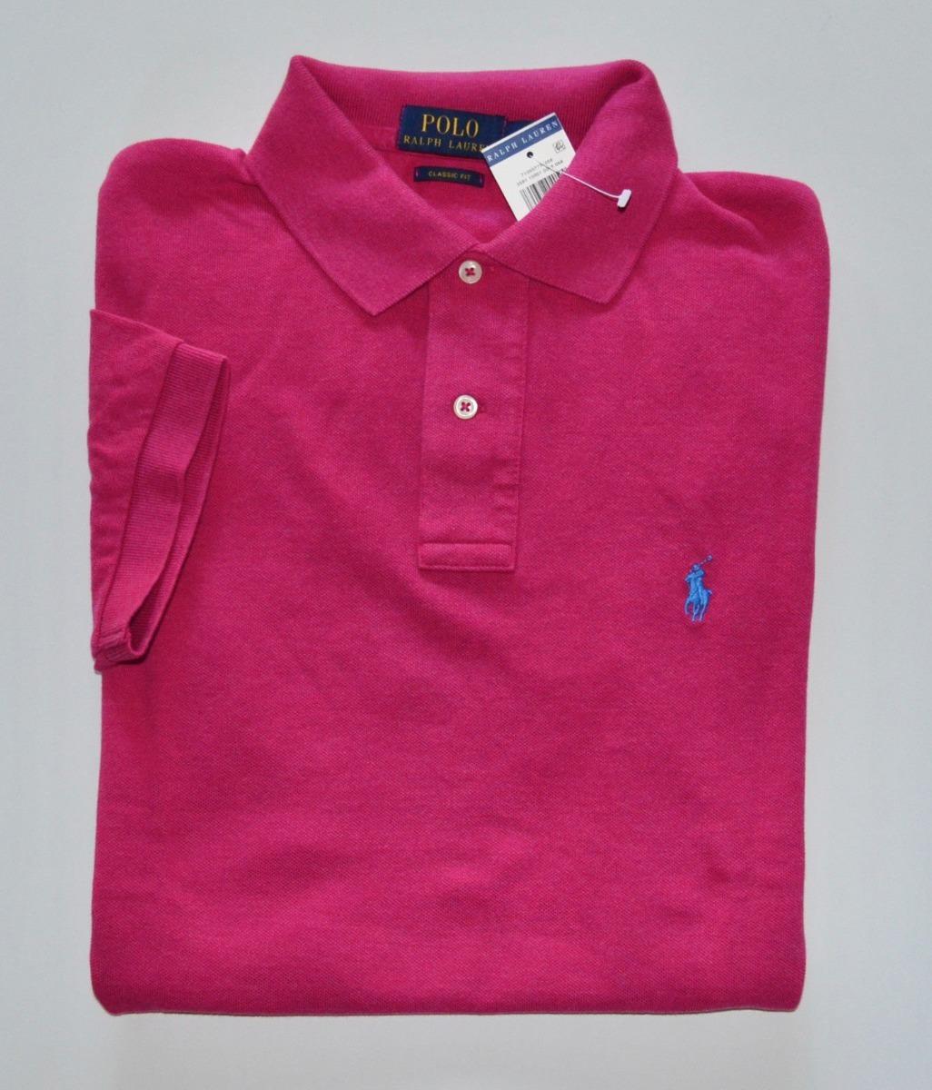 fbe864578c Camisa Polo Ralph Lauren Tamanho G   L Original Custom Fit - R  195 ...
