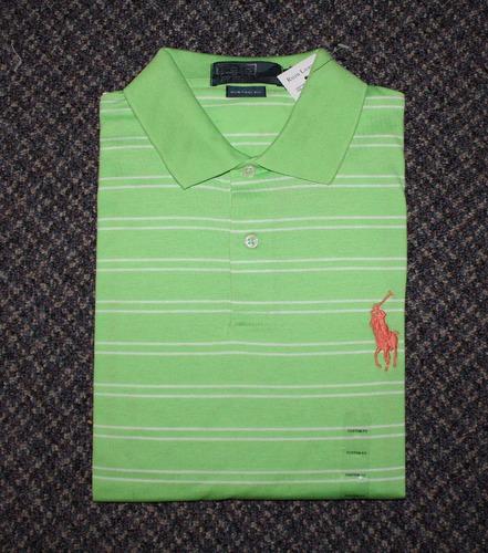 camisa polo ralph lauren tamanho gg / xl original big pony