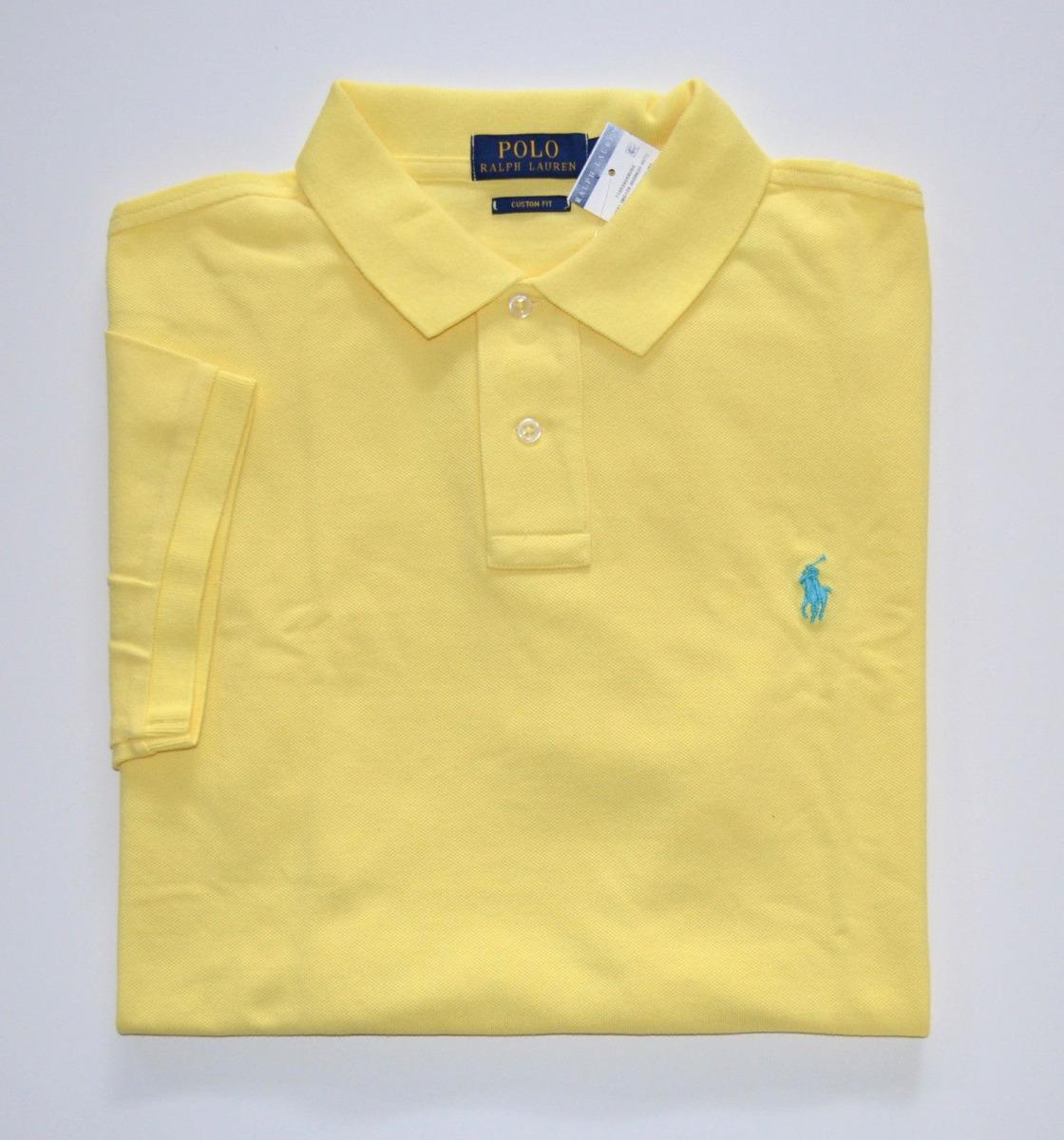 e652b80dac camisa polo ralph lauren tamanho gg xl original custom fit. Carregando zoom.