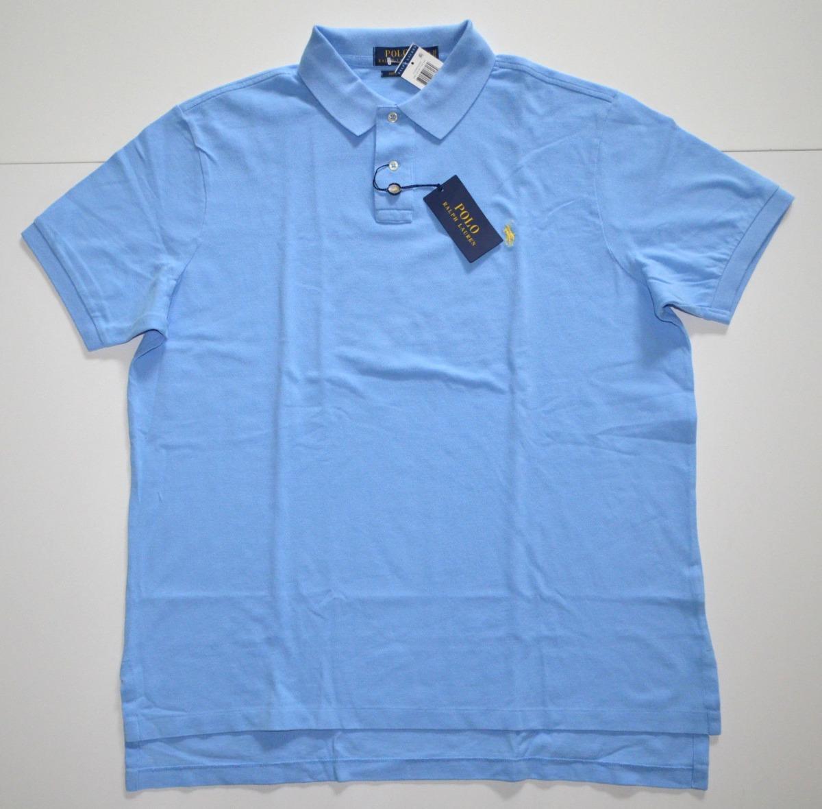 85c05f56a3 camisa polo ralph lauren tamanho xxl ggg slim fit + justa. Carregando zoom.