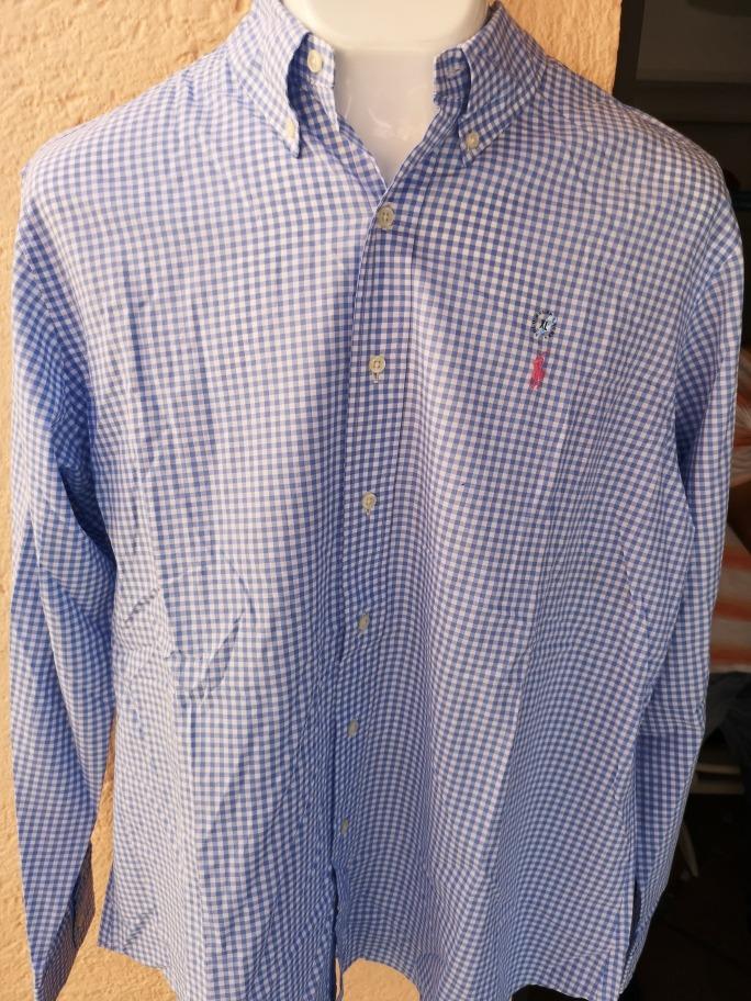 Camisa Polo Ralph Lauren Xl Azul (no Zegna c30aa72a77e