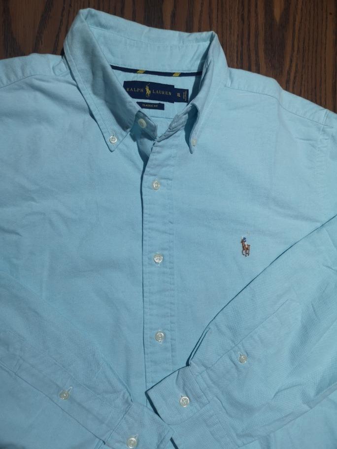 Camisa Polo Ralph Lauren Xl Original Azul -   800.00 en Mercado Libre ba132074afd