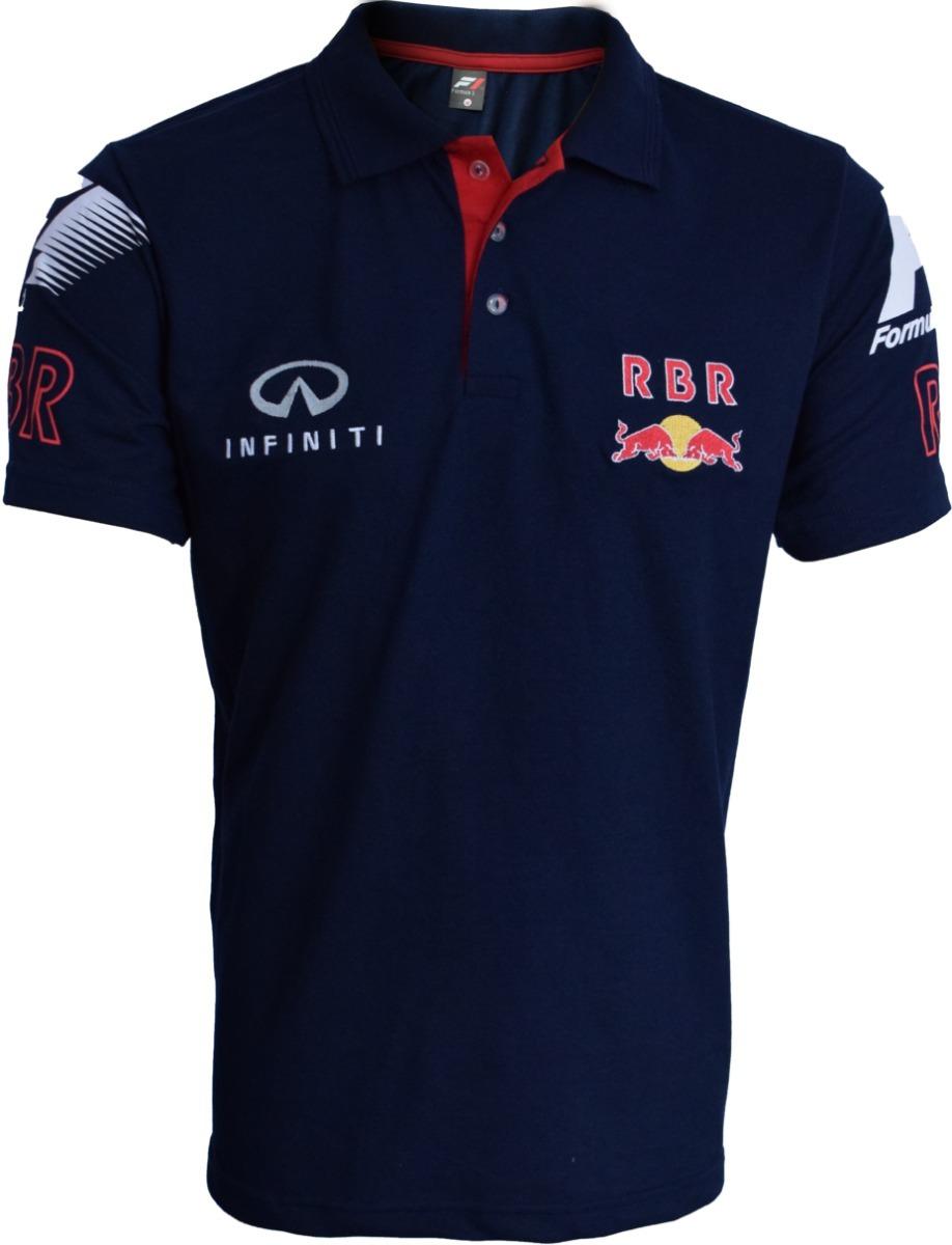 camisa polo rbr red bull racing formula 1. Carregando zoom. 1ee7f772575
