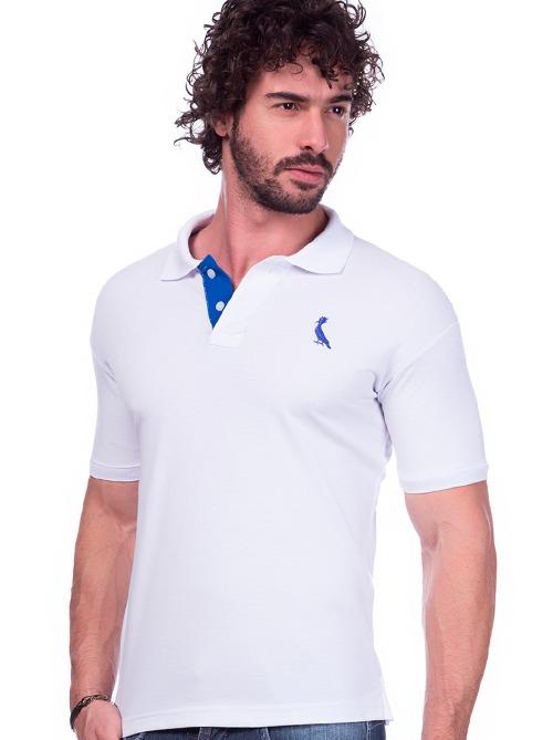 58c1e50e28 Camisa Polo Reserva Branca Masculina Ótima Qualidade - R  59