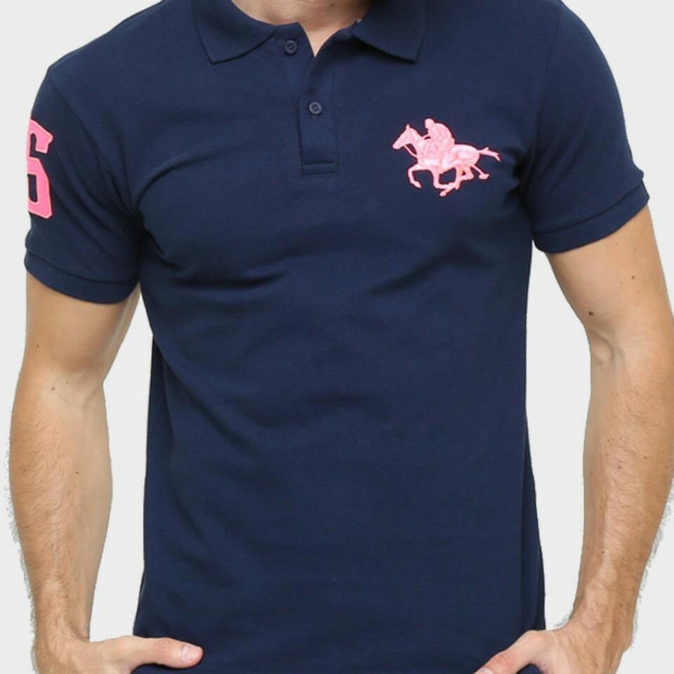 camisa polo rg 518 piquet bordado contraste colo. Carregando zoom. 2a4829e8960cc
