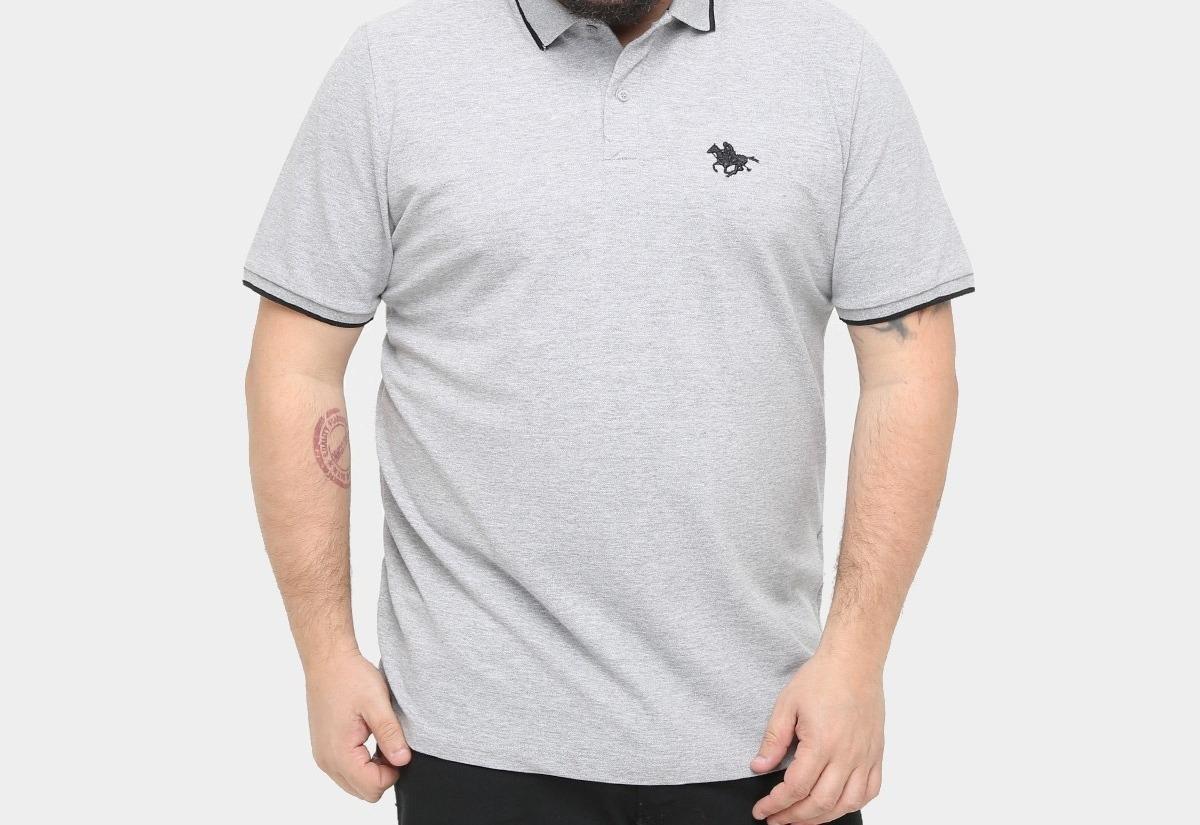 87dedc55e0a34 camisa polo rg 518 piquet frisos bordado plus size masculina. Carregando  zoom.