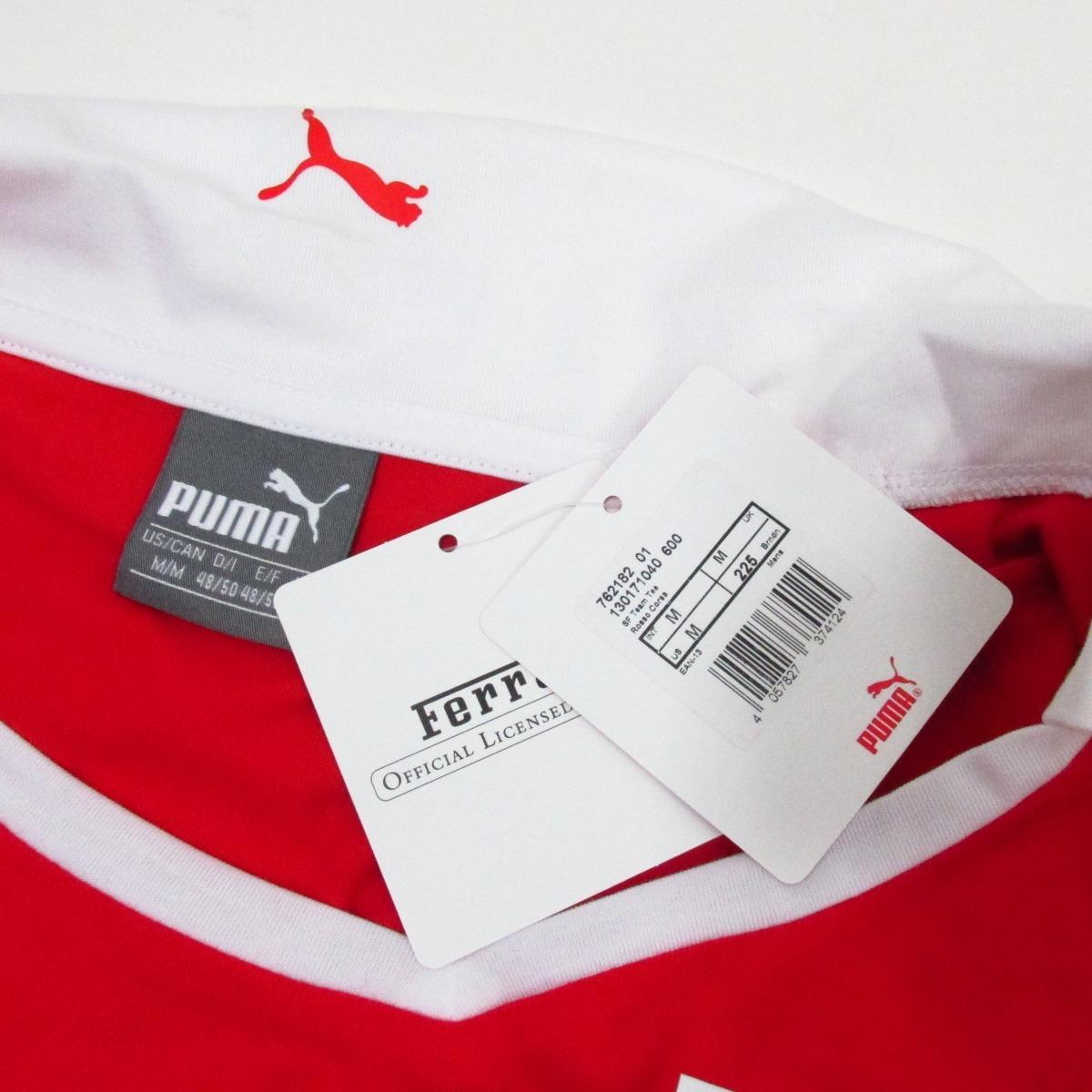 f7b97685d2 Camisa Polo Santander Ferrari Puma Original Kapela - R$ 399,00 em ...