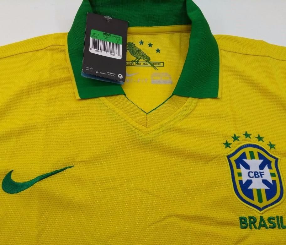 Camisa Polo Seleção Brasileira 2018 S n° - Torcedor Nike - R  99 b63b50f4e49e2