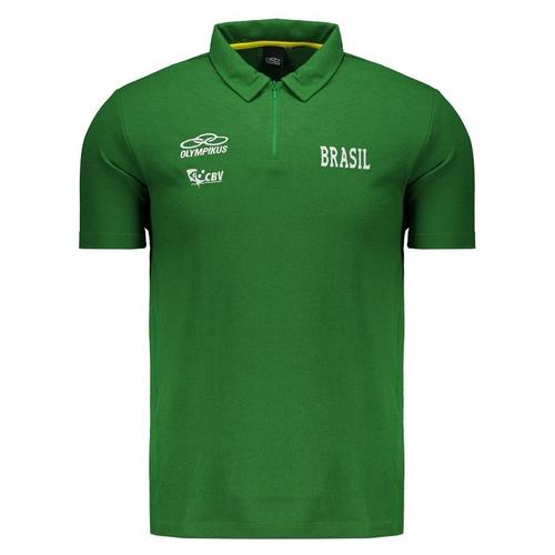 camisa polo seleção volei cvb brasil original tamanho gg