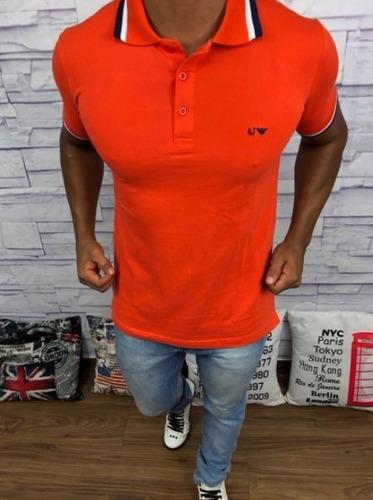 camisa polo sergio k 100% original  armani exchange