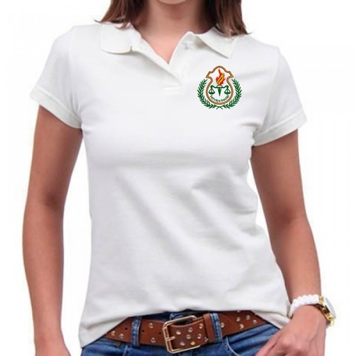 84747ed92f Camisa Polo Serviço Social Feminina - R  40