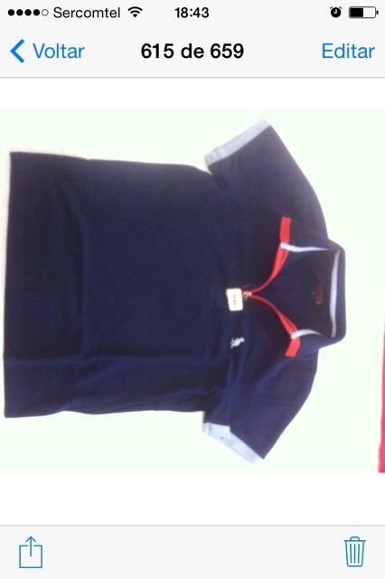 Camisa Polo Side Walk - R  189 ce3464ec8a3cb