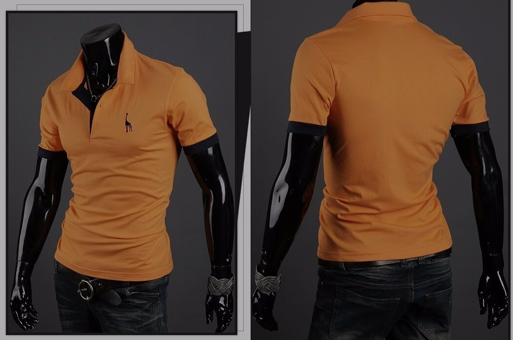 c2ec43a8b6e63 camisa polo slim fit fashion. Carregando zoom.