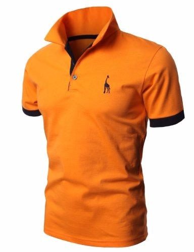 Camisa Polo Slim Giraffe - R  54 fbdd7da61396f