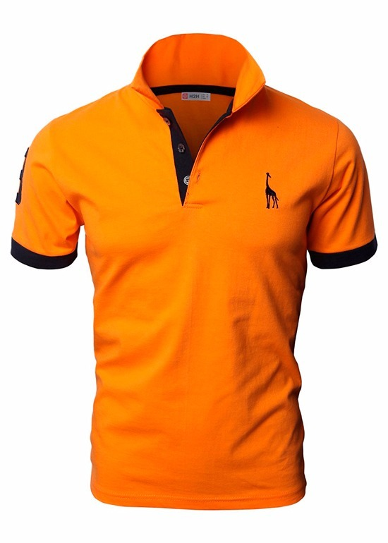ee284b1e0f Camisa Polo Slim Giraffe - R  54