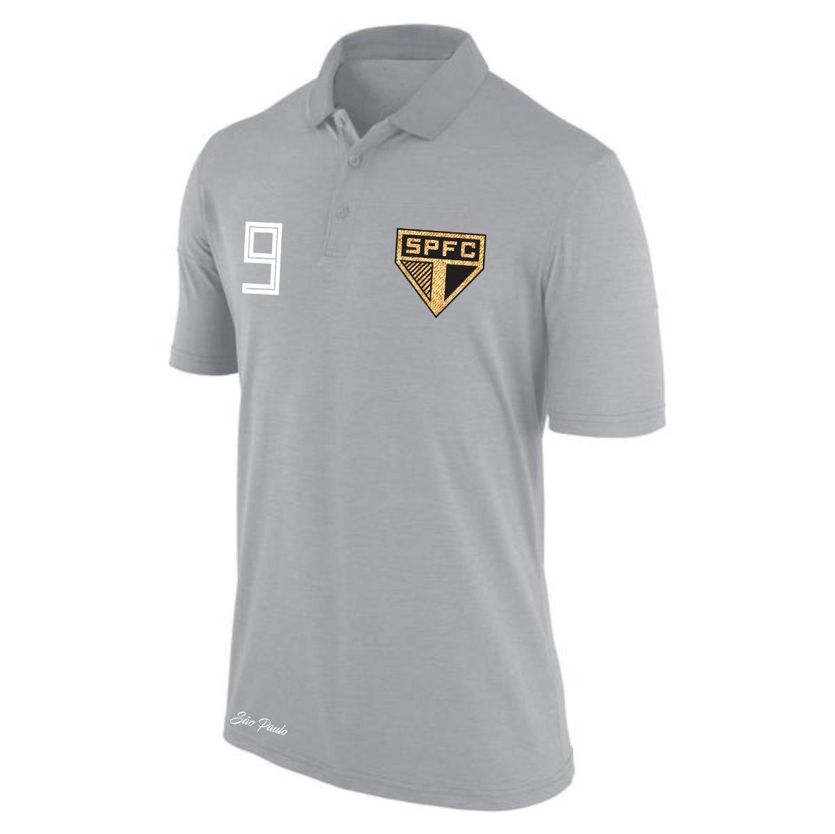 2c961d4910 camisa polo são paulo bordado torcedor nove personalizada. Carregando zoom.