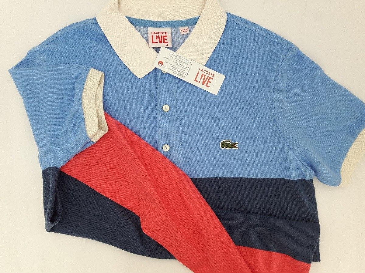 camisa polo social lacoste 100% original importada promoção. Carregando  zoom. 03c364a14689c