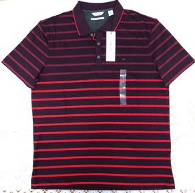9146b7694b Camisa Polo Tommy Hilfiger - Bordo vermelha - Original