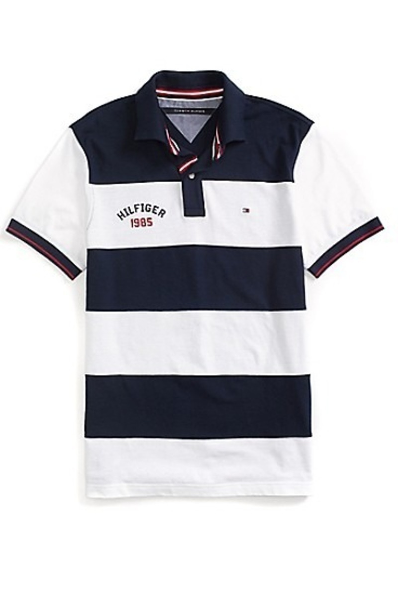 0a99622ed Camisa Polo Tommy Hilfiger Custom Fit Pieced Polo - R$ 370,00 em ...