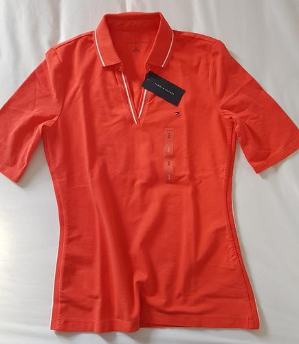 camisa polo tommy hilfiger feminina importada original