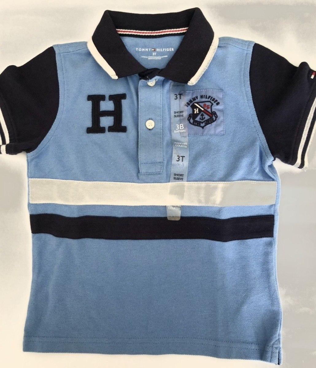 camisa polo tommy hilfiger kids infantil 3 t. Carregando zoom. a28321fdcba