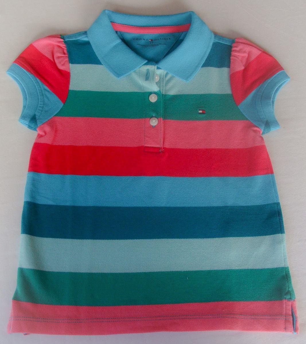 camisa polo tommy hilfiger kids para menina - lançamento! Carregando zoom. d531fffcf9c