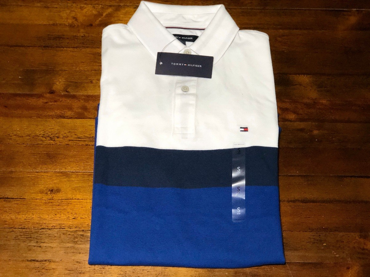 454eb2a55 camisa polo tommy hilfiger - originais by usa (masc). Carregando zoom.