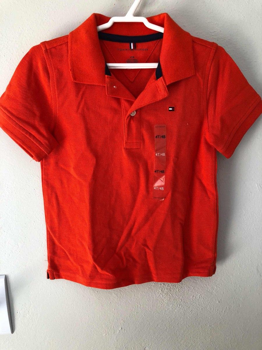 0b7c17a058 camisa polo tommy hilfiger original infantil vermelha 4 anos. Carregando  zoom.