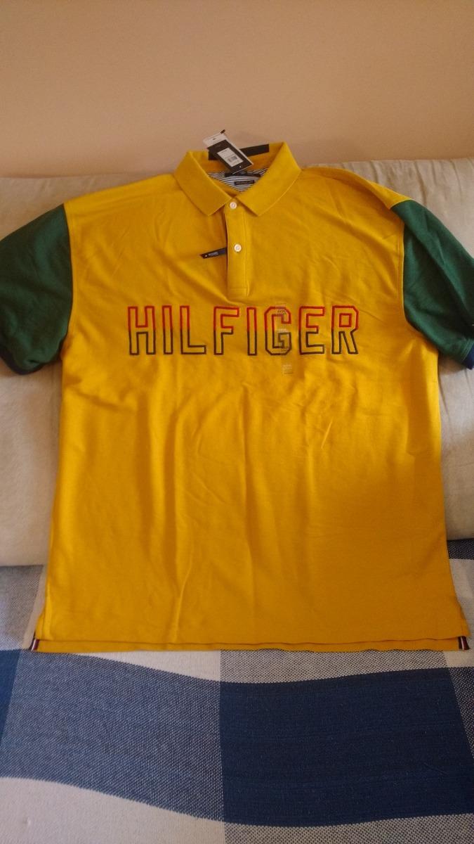 17d23f606 camisa polo tommy hilfiger original nova tam 3xl regular fit. Carregando  zoom.