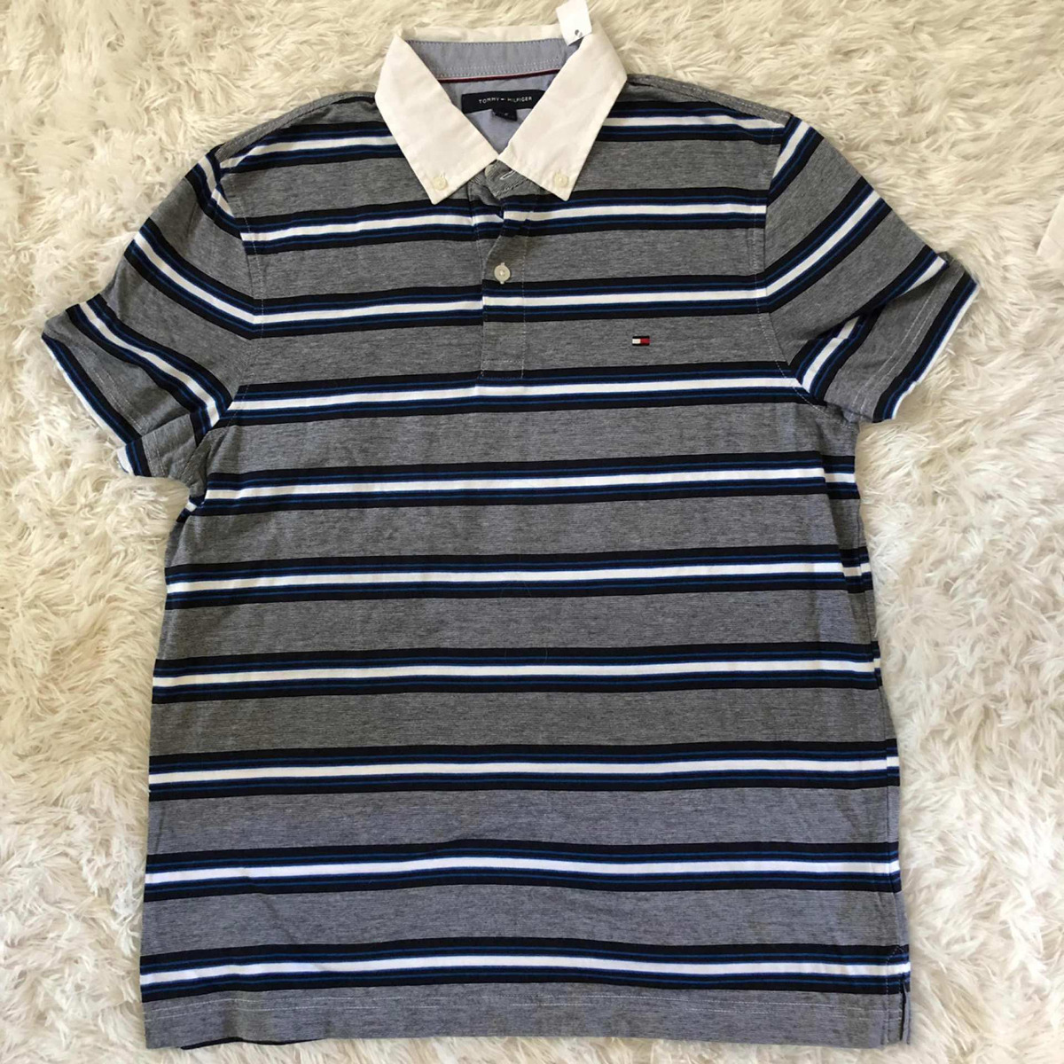 acded1b22 Camisa Polo -tommy Hilfiger - P - Listras - R  129