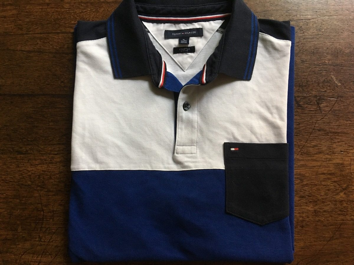 6ab9f99d5 camisa polo tommy hilfiger stretch original tm extra large. Carregando zoom.